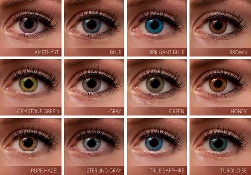 Fresh look color blends contact lenses contact lenses kanak