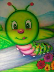 School 3D Wall Painting Service