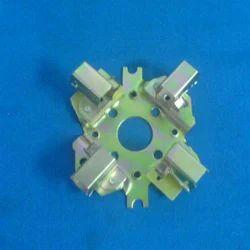 AMP Hard Cast Aluminium Brush Holder for Cars, For Automotive