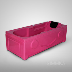 Spanish Head Rest Bathing Tub with Panel