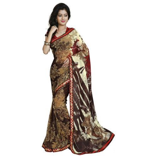 fadac03c77 Designer Chiffon Saree at Rs 250 /piece | Surat | ID: 10901567130