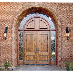 Arched Double Entry Doors