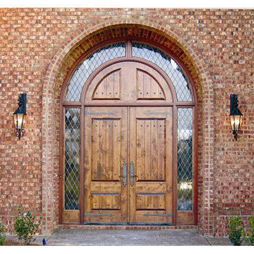 Arched Double Entry Doors Door