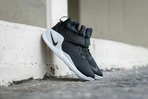 High Ankle Black Blue Nike Kawazi Shoes