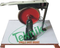 Single Brake Shoe Model