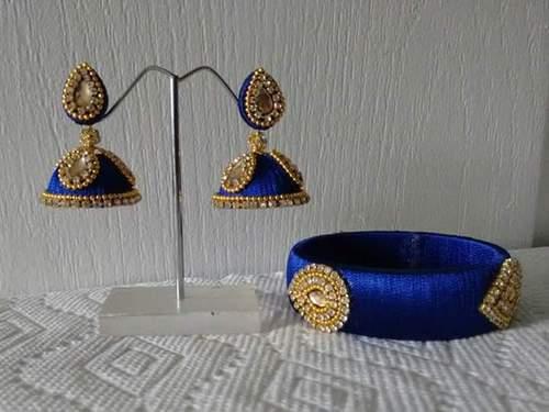 Silk Thread Jewellery Silk Thread Bangle Kada And