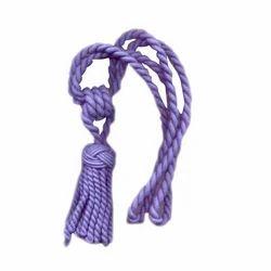 Purple Tassel Tieback