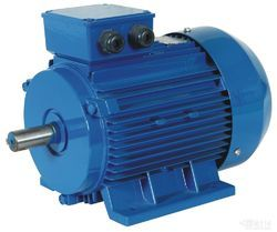 Three Phase ABB Standard Industrial Induction Motor, Voltage: 220 To 460 V, IP Rating: IP55