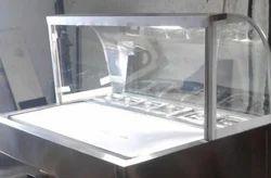 Cold Stone Ice Cream Rolls Making Machine