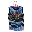 Sleeveless Kids T-Shirt Digital Printing Service