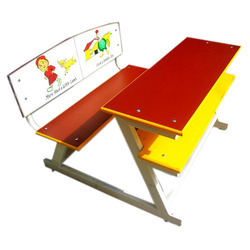 Duel Desk Z Model With Printed Laminated Back Frame