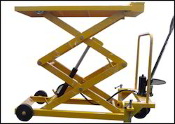 Manual Hydraulic Scissors Lift Tables