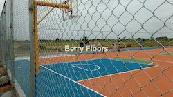 Basket Ball Court Flooring & Accessories