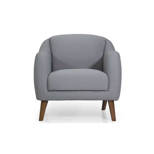 Pearth Lobby Chair In Grey