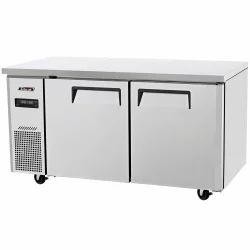 Top Freezer SS Undercounter Refrigerator, Capacity: 500 L, Refrigerant Used: R134a