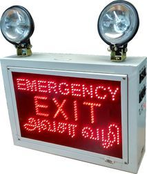 Industrial Emergency 2 Bulb Light