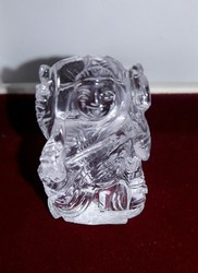 Natural Crystal Saraswati Idol