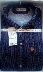 38 , 40 Men's Slim Fit Denim Shirt