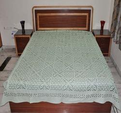 Indian Cut Work Appliue Bed Cover