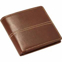 Male Bi Fold Leather Wallet