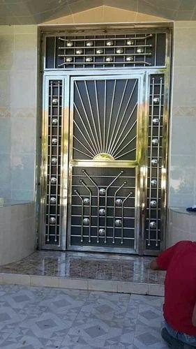 Stainless Steel Main Door Grill at Rs 350/kilogram ...