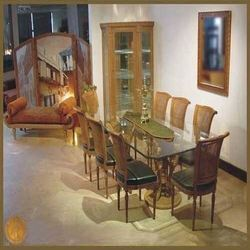 Curved Dining Set