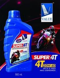 Super 4T Engine Oil 900ml pack(SL GRADE)