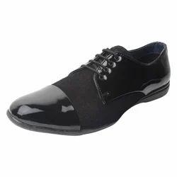 Leather Formal Men Dress Shoes - Black