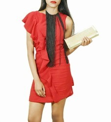Red SPOCCI One Piece Dress