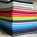 Plain Casual Wear Cotton Cloth, Gsm: 50-100