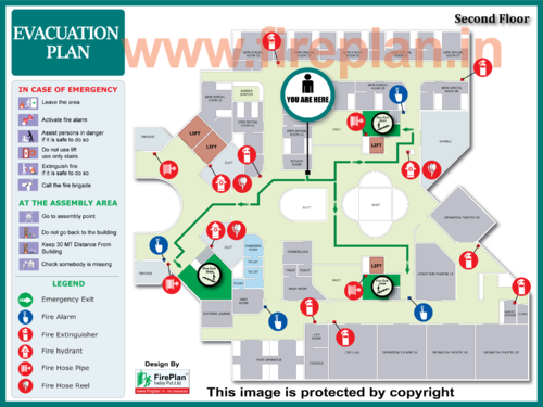 fire evacuation plan manufacturer from pune