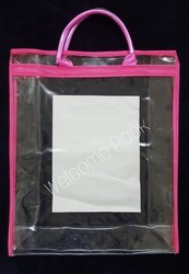 Transparent PVC Shopping Bag