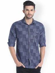 Cotton Collar Neck Men Shirts
