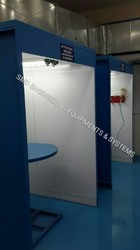 Batch Type Paint Booth
