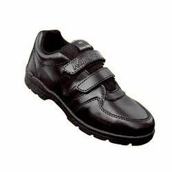 Kayvee Footwear PVC Unisex Velcro School Shoes