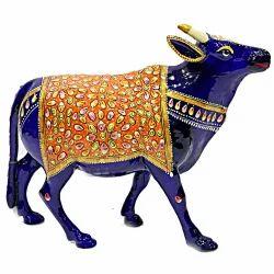 Meenakari Work Cow Walking MT052