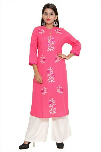 Regular and A-Line Cotton Slub Kurti
