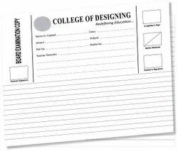 Answer Sheet (Examination Copy) Senior Pattern