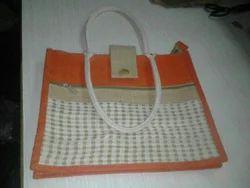Handcrafted Jute Printed Bag