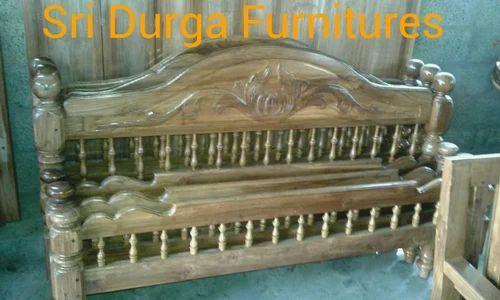 Teakwood Furniture Antique Teak Wood Cot Manufacturer