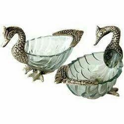 Multiutility Duck Shape Glass Bowl Set