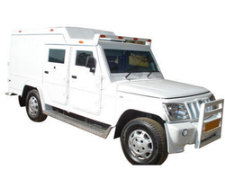 bullet proof cash van