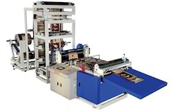 Fully Auto Online Gusset Woven Sack Cutting Machine