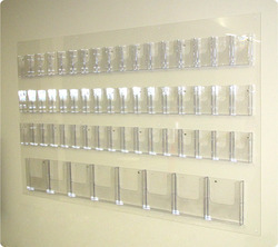 get in touch with us - Card Rack