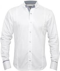 White Formal Shirts and White Mens Shirt Exporter | SS Fabrics ...