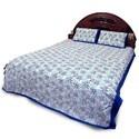 Rajasthani Print Double Bedsheet Set 353