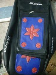 Rexin Blue Bike Seat Covers