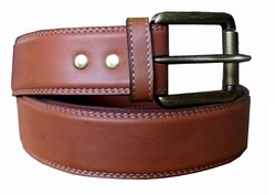 Mens Leather Casual Belts