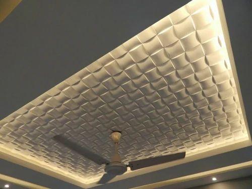 Gypsum 3d Ceiling Panel Manufacturer From Rajkot