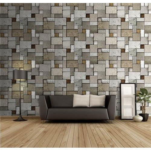 Home Vinyl 3D Wallpaper, Thickness: 3 Mm, Rs 3500 /roll